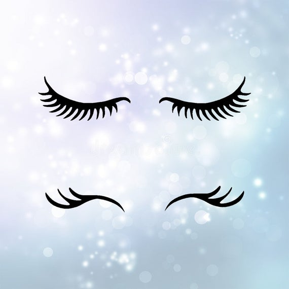 unicorn lashes svg #1002, Download drawings