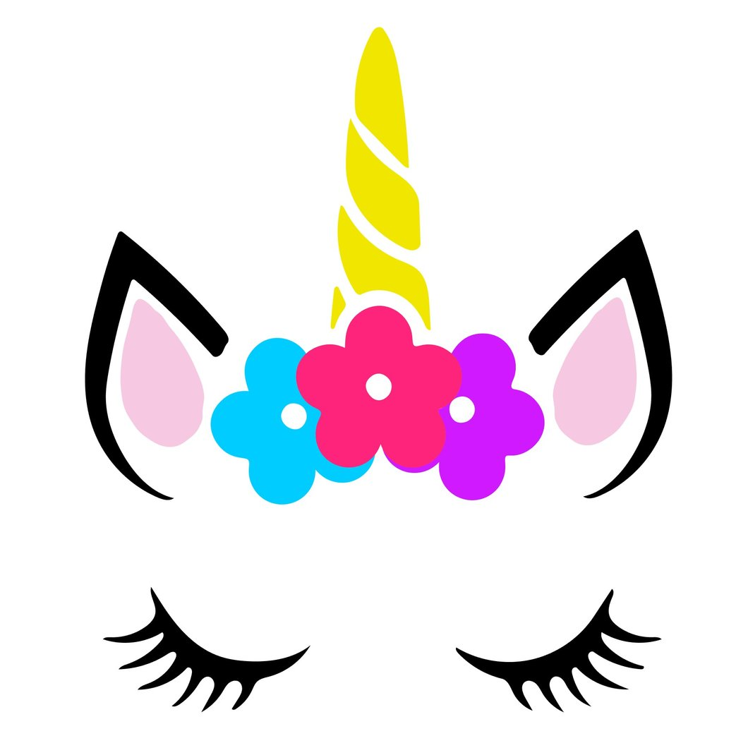 unicorn lashes svg #1004, Download drawings