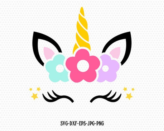 unicorn lashes svg #1003, Download drawings