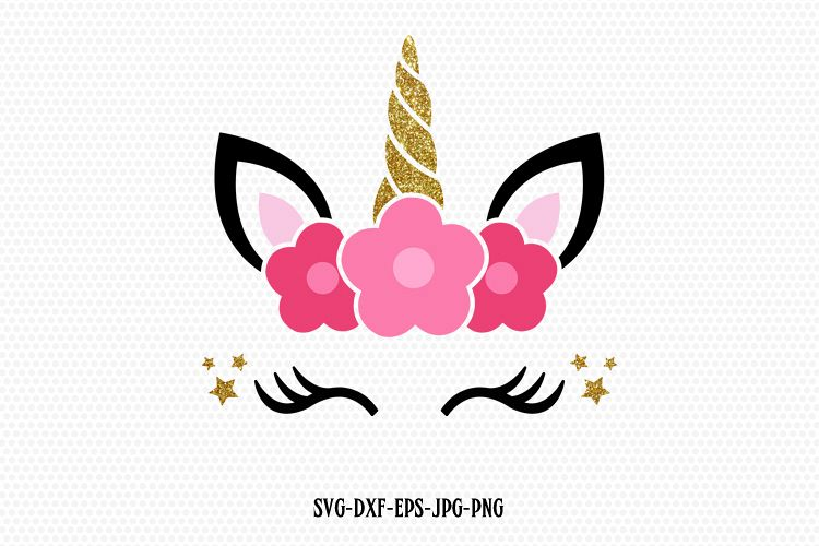 unicorn lashes svg #1007, Download drawings