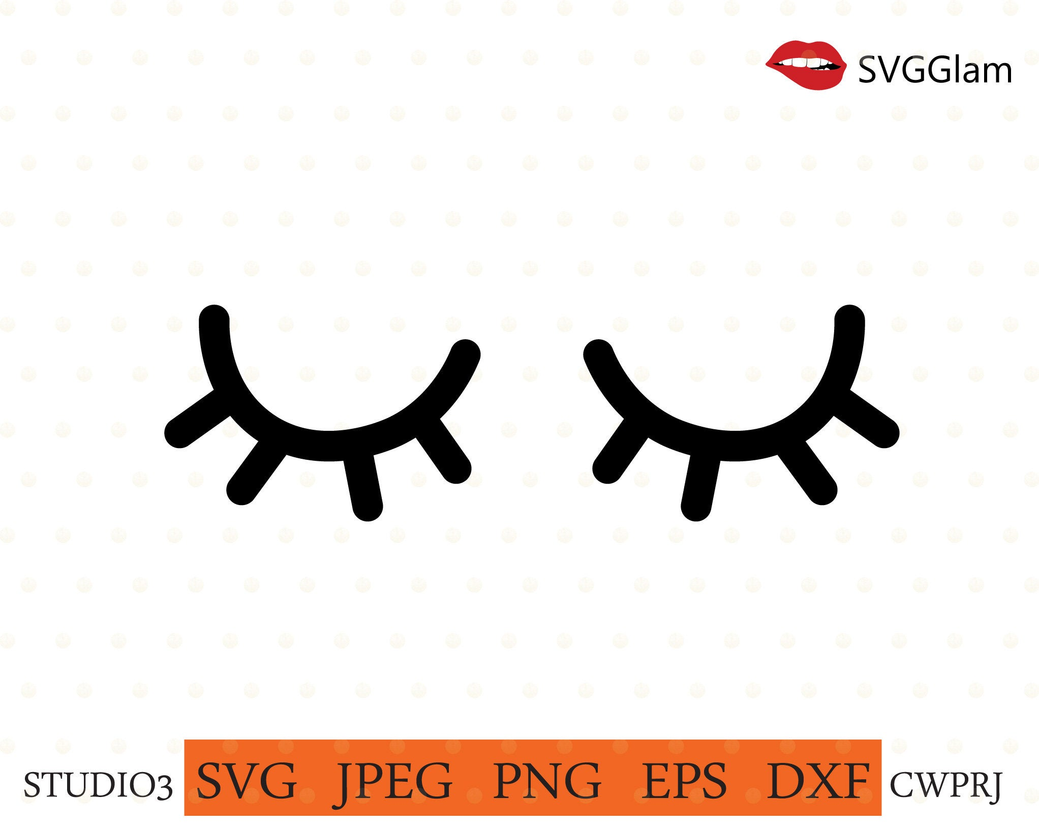 unicorn lashes svg #1014, Download drawings