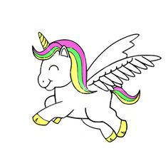 Unicorn svg #11, Download drawings