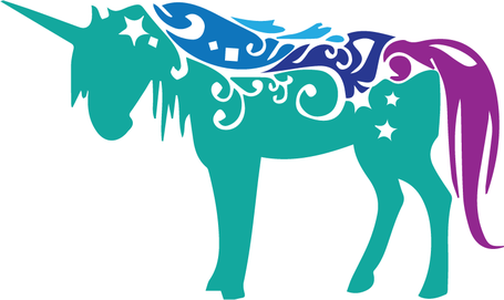 Unicorn svg #5, Download drawings