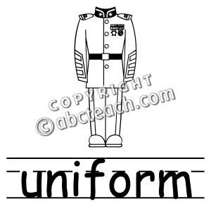 Uniform clipart #8, Download drawings
