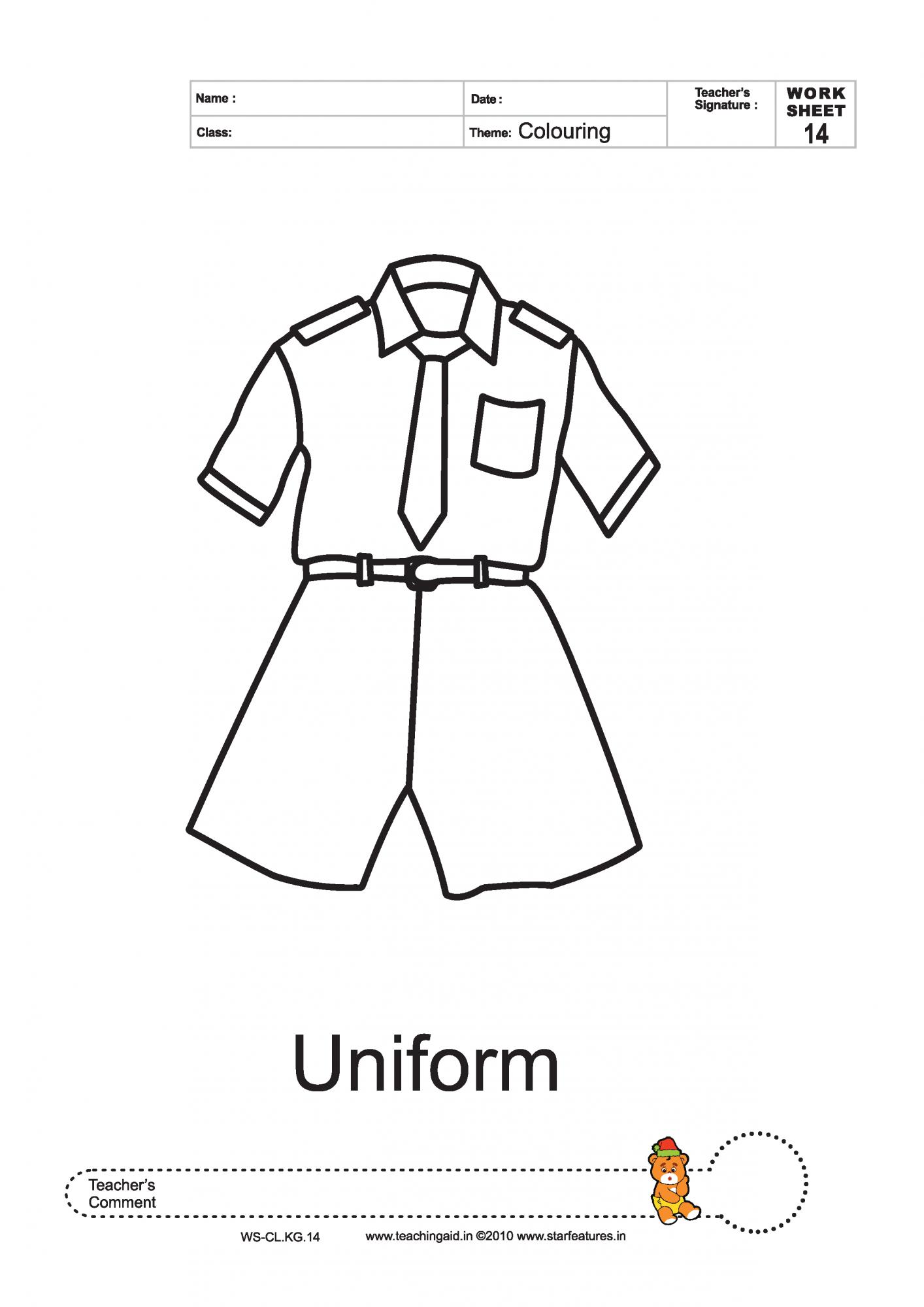 Uniform coloring #1, Download drawings