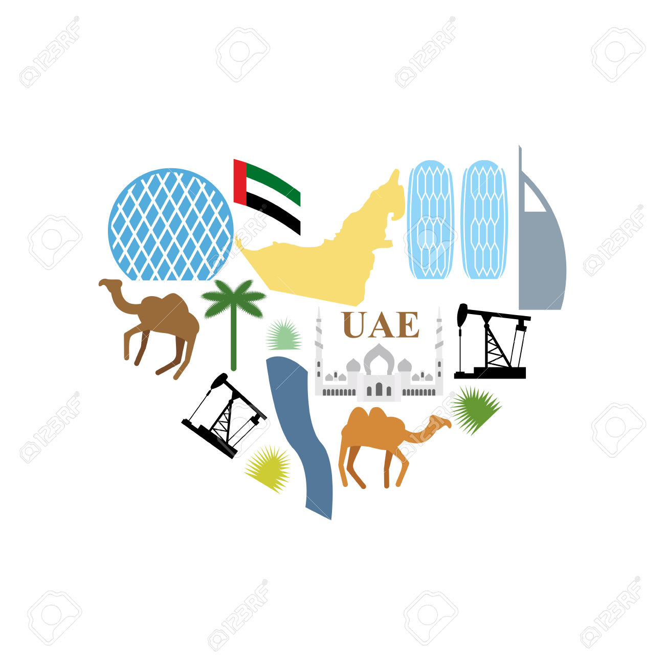 United Arab Emirates clipart #13, Download drawings