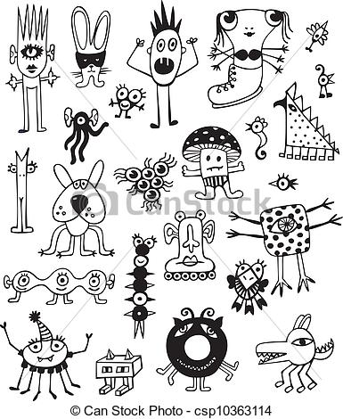 Unusual clipart #14, Download drawings