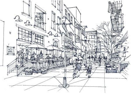 Urban coloring #7, Download drawings