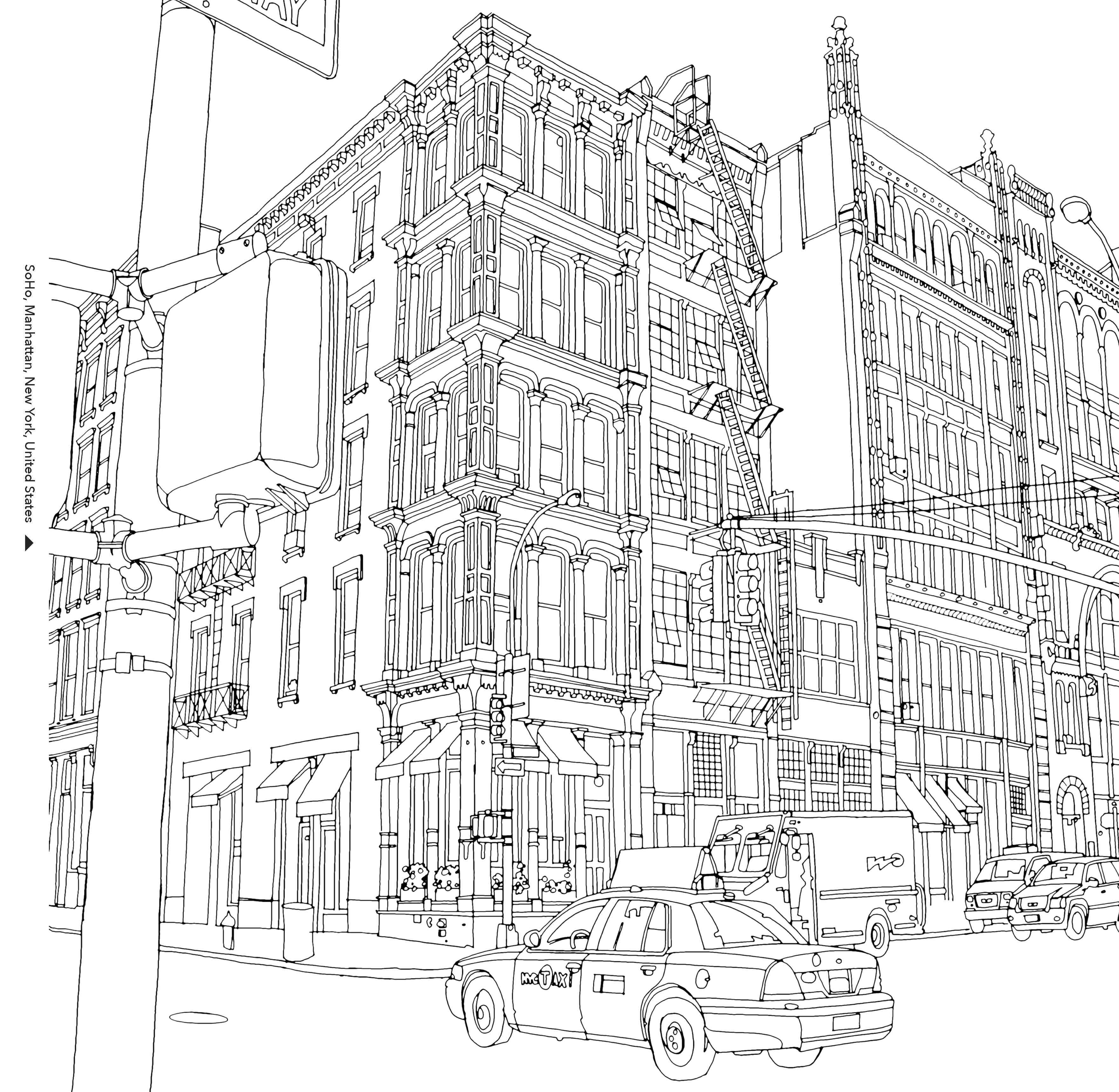 Urban Coloring Download Urban Coloring