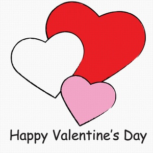 Valentine's Day clipart #1, Download drawings