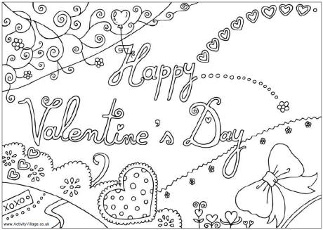 Valentine's Day coloring #18, Download drawings