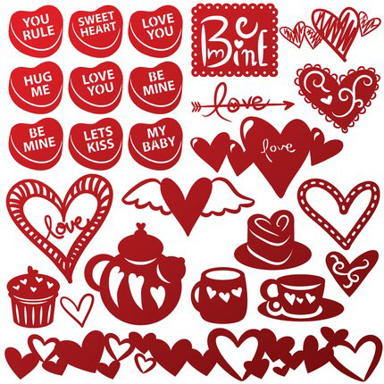 Valentine's Day svg #14, Download drawings