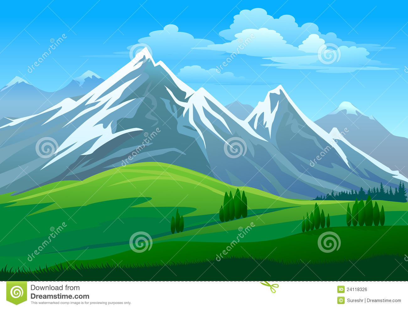Himalaya Mountans clipart #4, Download drawings