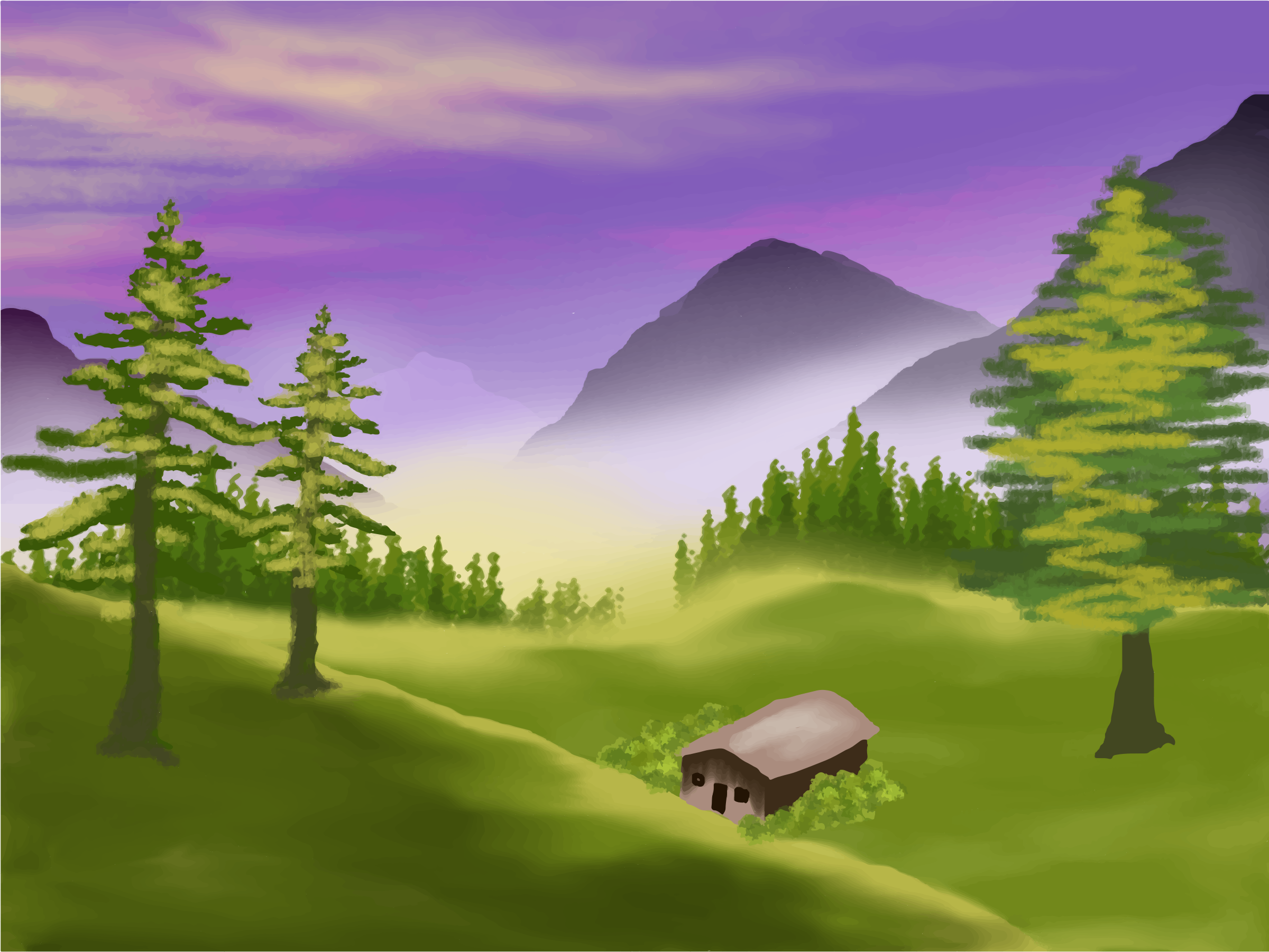 Valley clipart #4, Download drawings