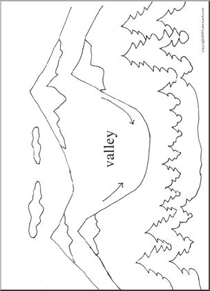 Valley coloring #8, Download drawings