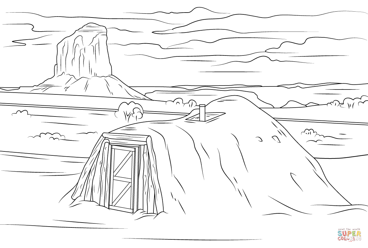 Valley coloring #3, Download drawings