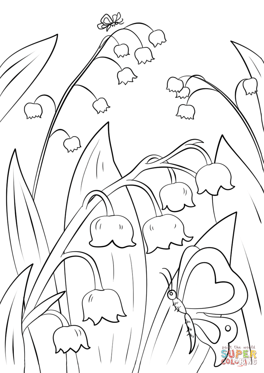 Valley coloring #12, Download drawings