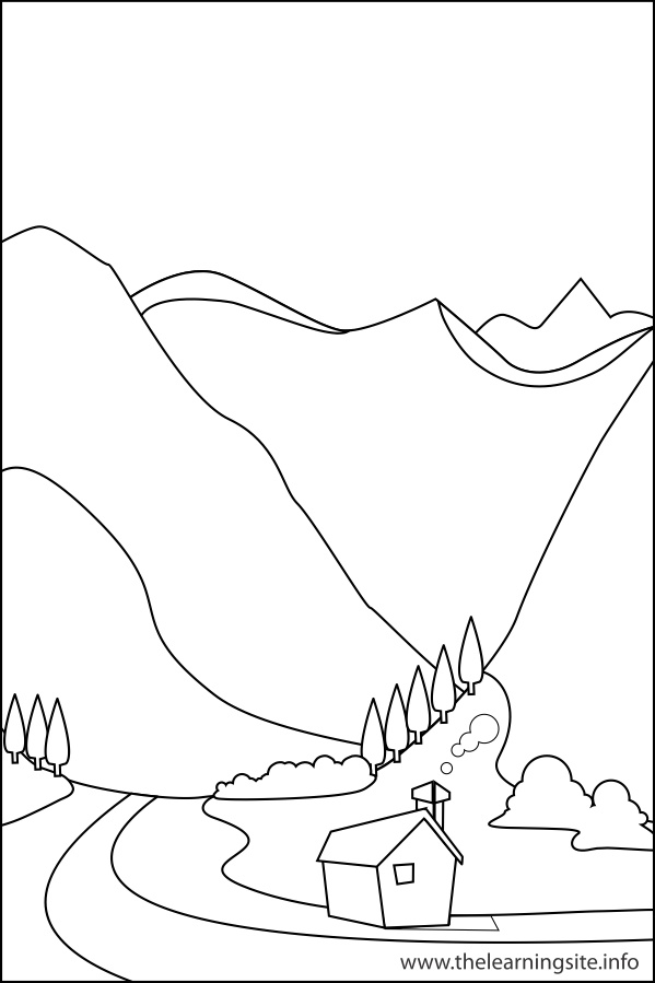 Valley coloring #14, Download drawings