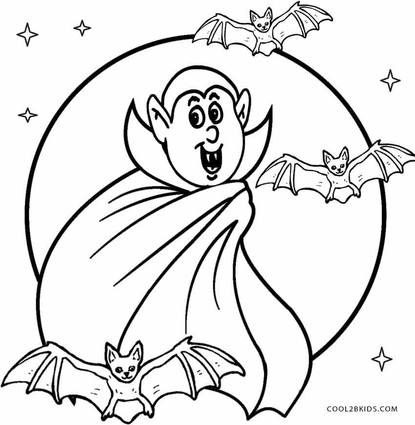 Vampire coloring #13, Download drawings