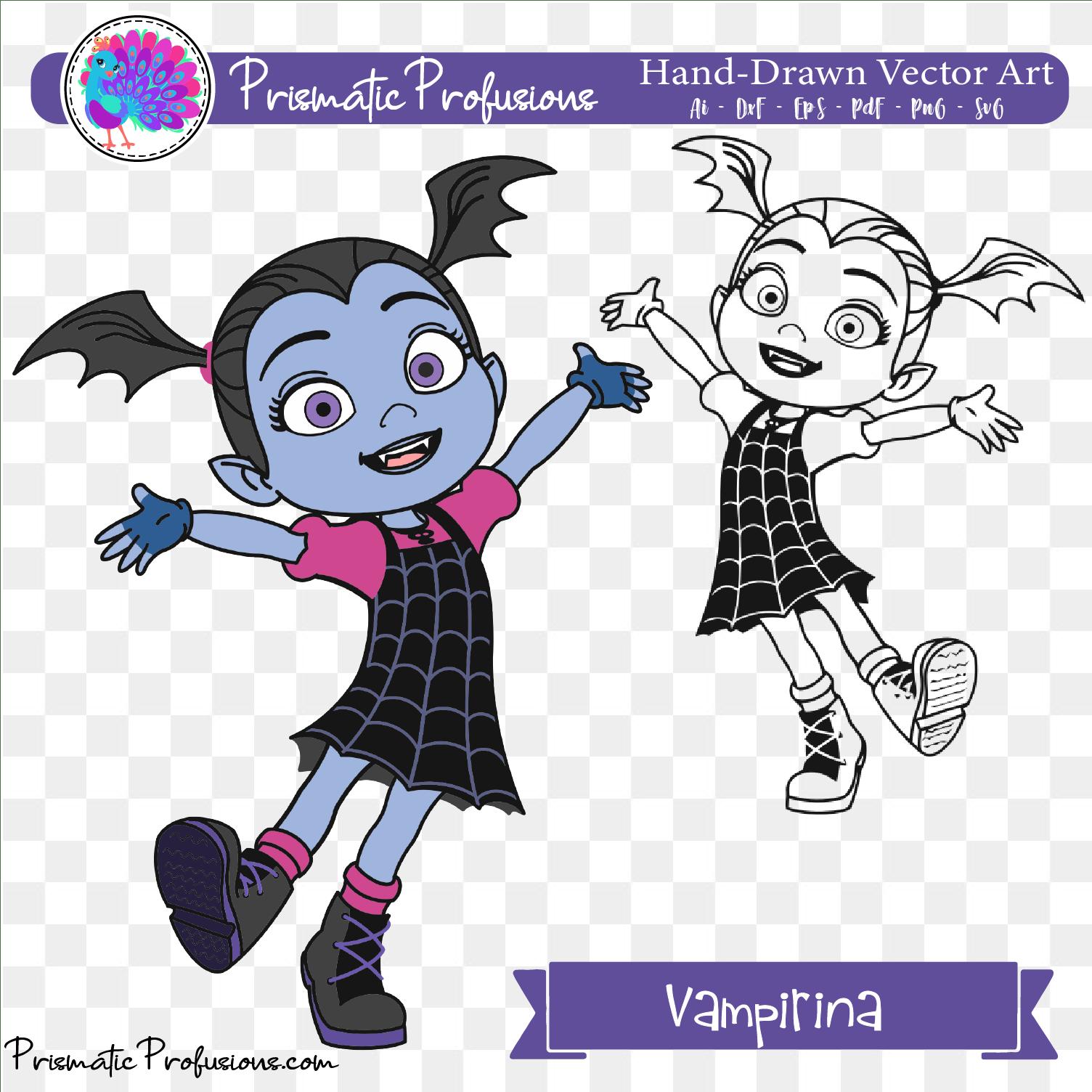 vampirina svg #963, Download drawings