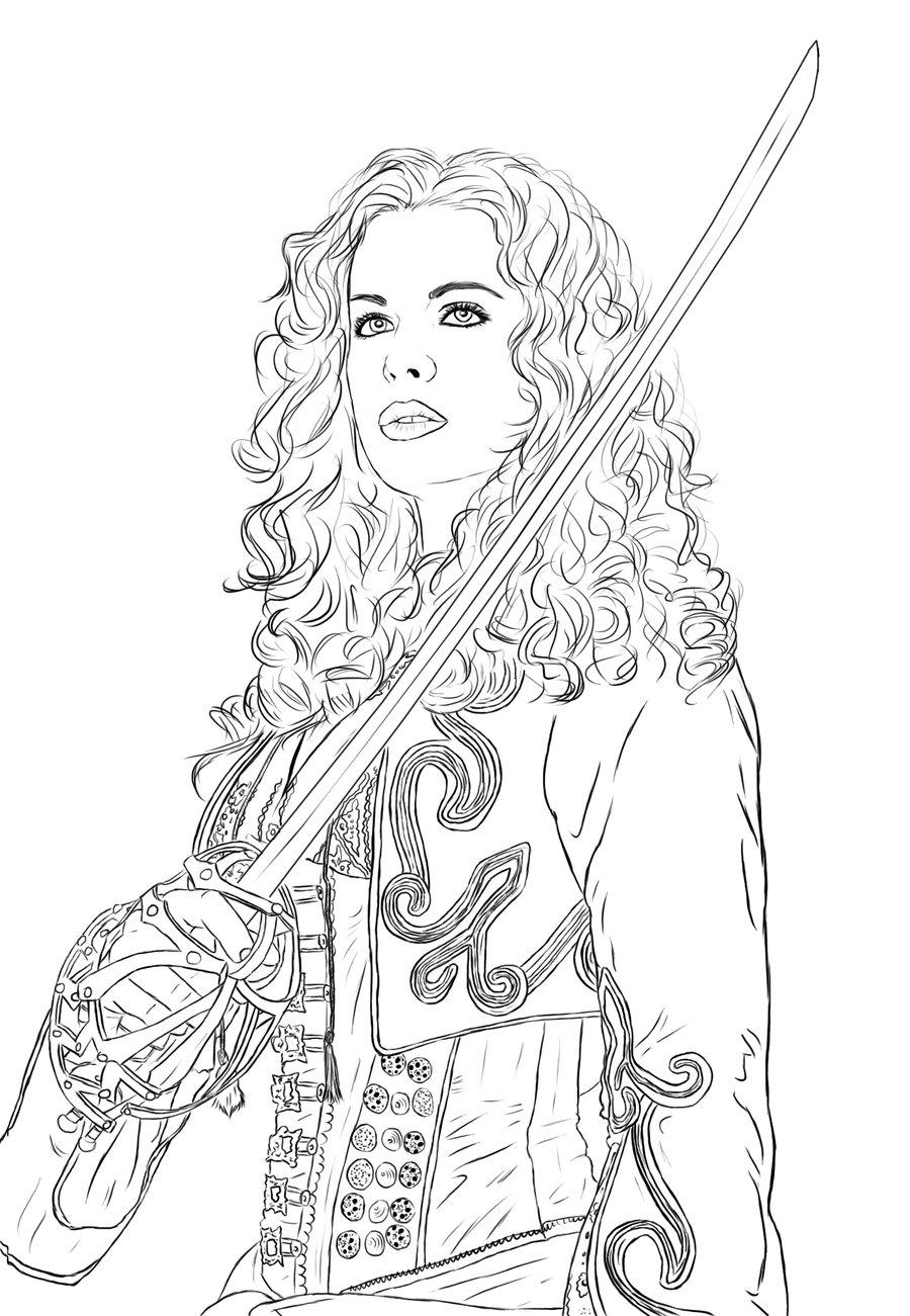 Van Helsing coloring #3, Download drawings