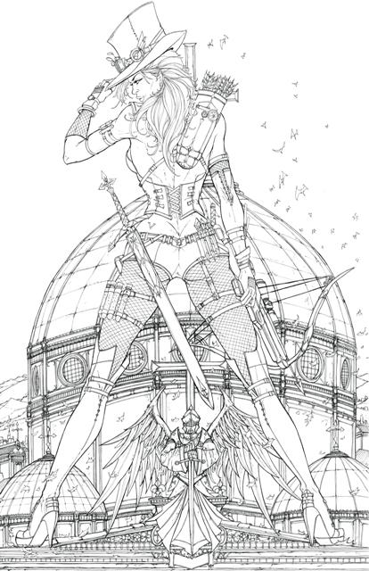 Van Helsing coloring #8, Download drawings