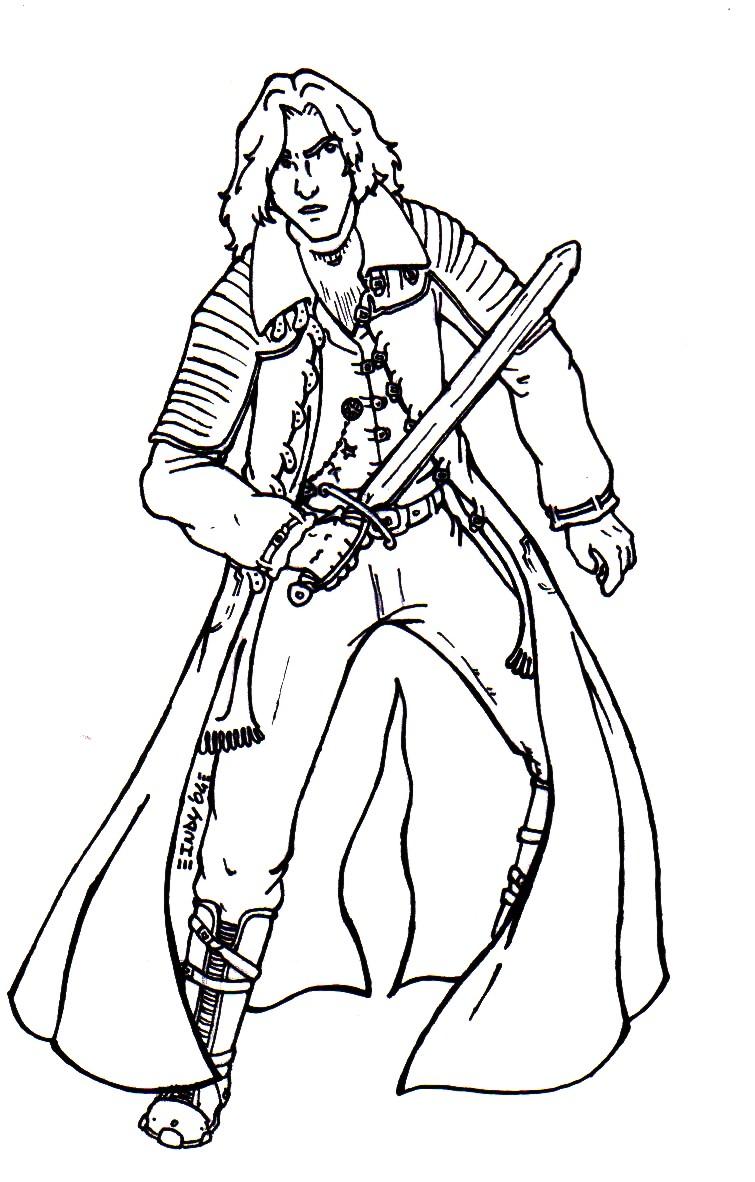 Van Helsing coloring #11, Download drawings