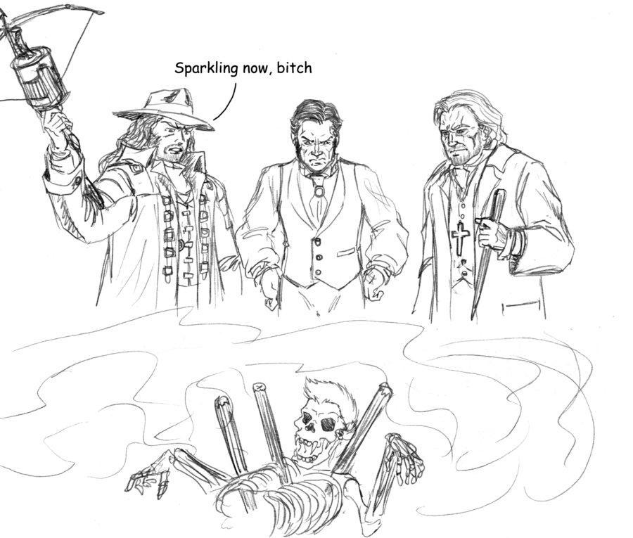 Van Helsing coloring #14, Download drawings