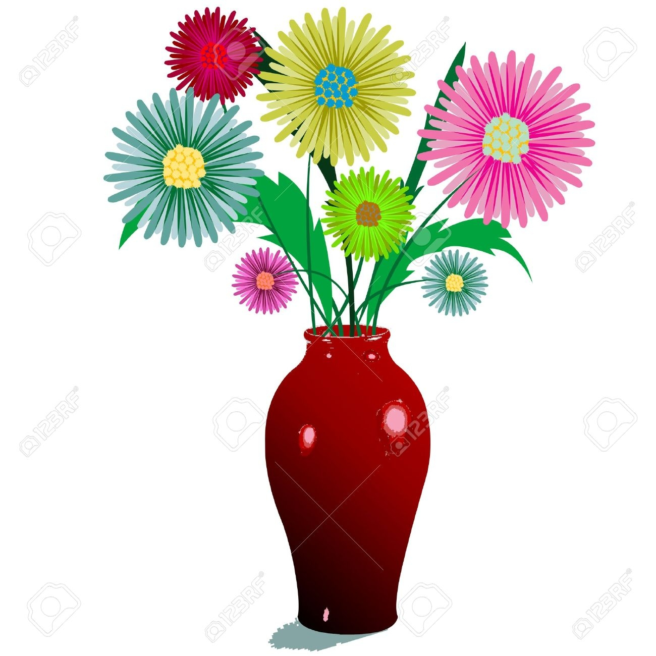 Vase clipart #4, Download drawings