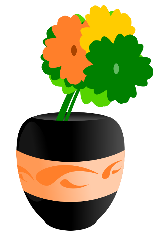 Vase clipart #7, Download drawings
