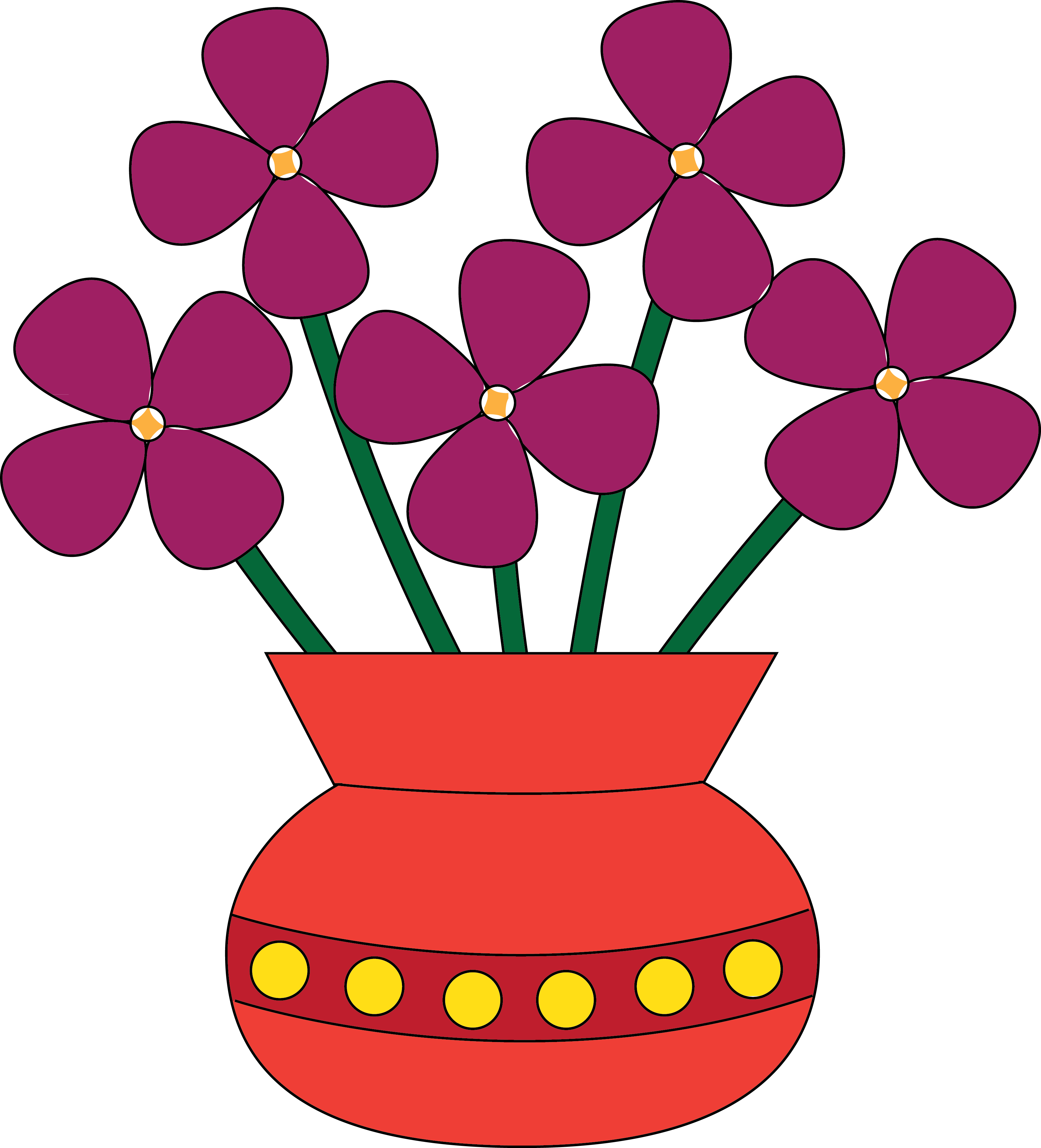Vase clipart #5, Download drawings