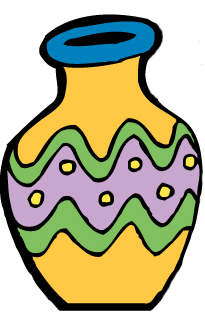 Vase clipart #6, Download drawings