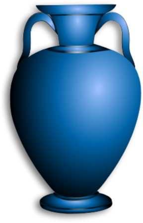Vase clipart #1, Download drawings