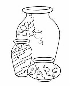 Vase coloring #6, Download drawings