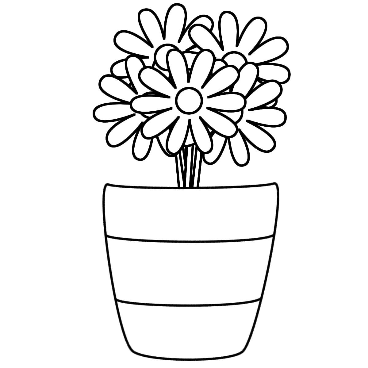 Vase coloring #15, Download drawings