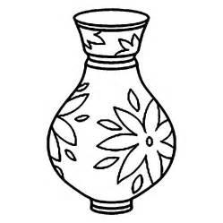 Vase coloring #11, Download drawings