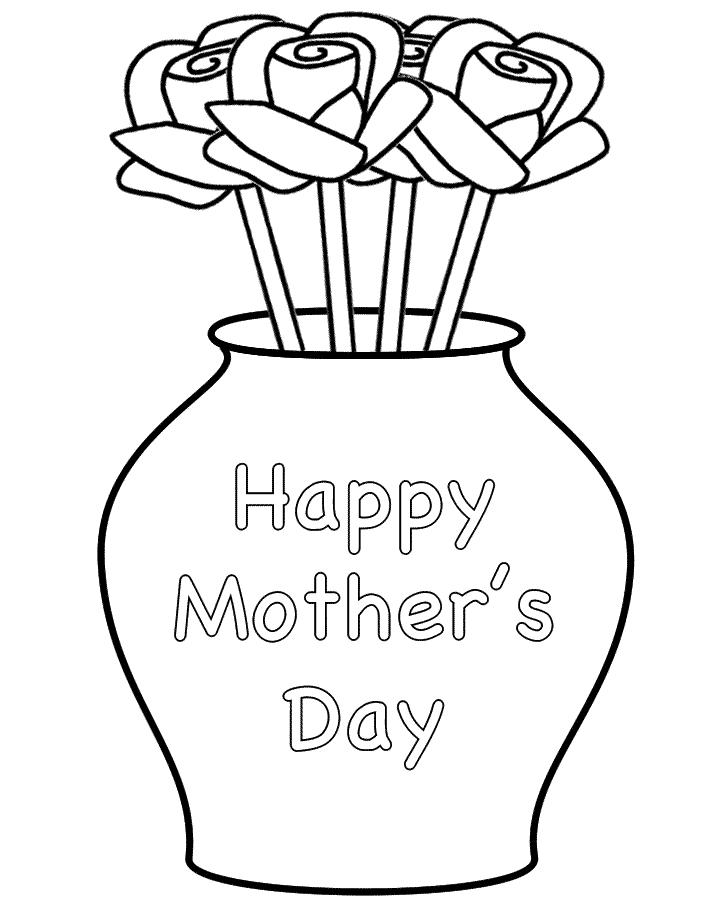 Vase coloring #13, Download drawings