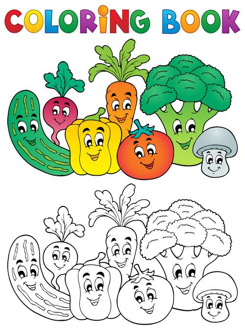 Vector coloring #16, Download drawings