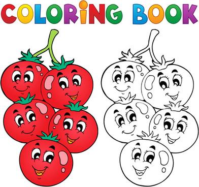 Vector coloring #7, Download drawings