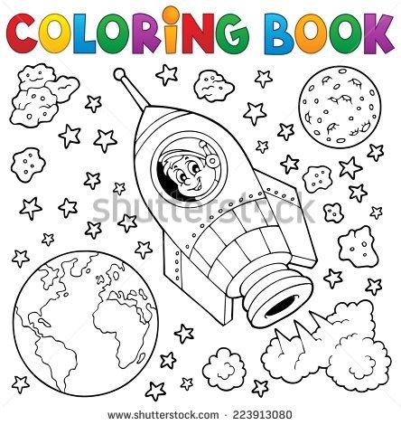 Vector coloring #9, Download drawings