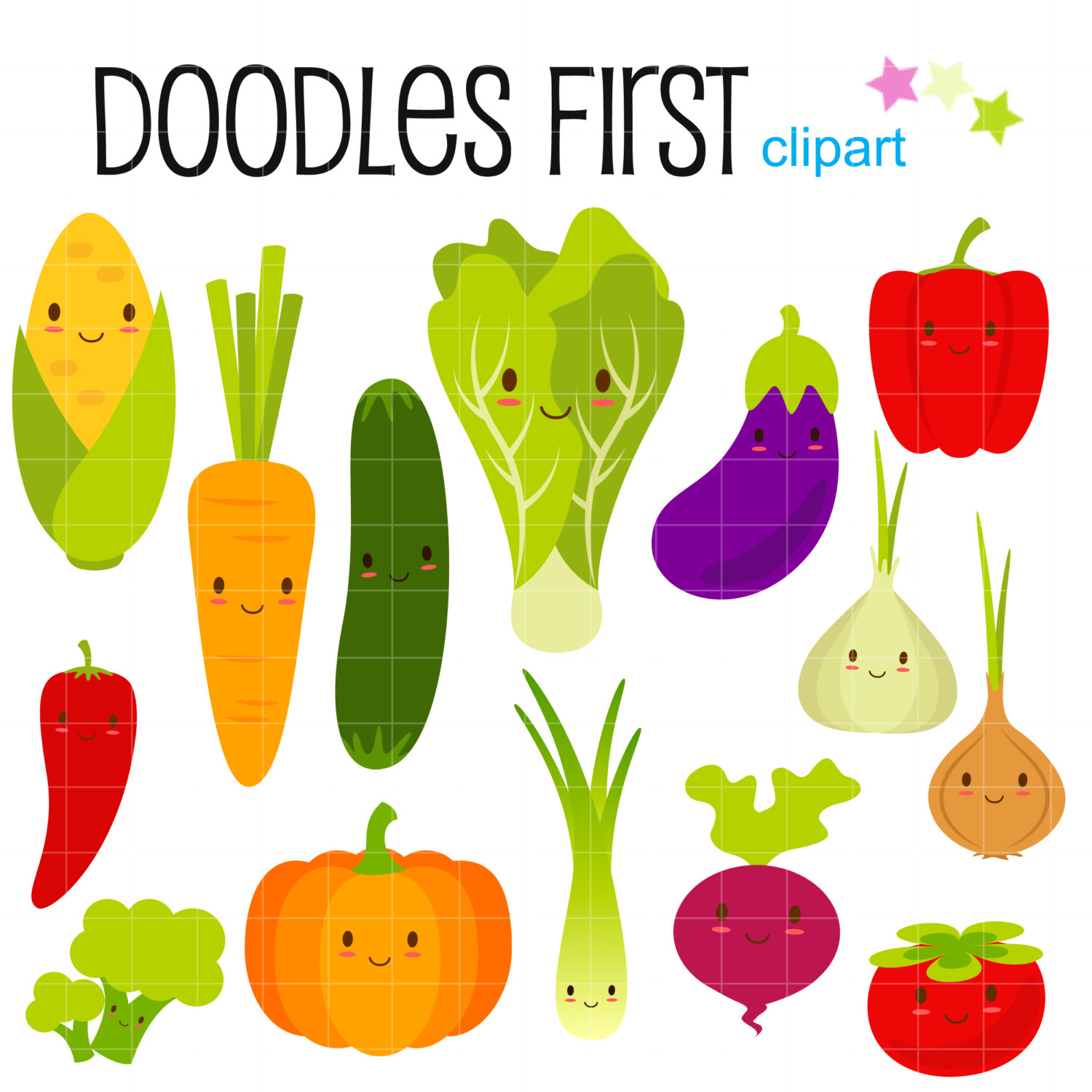 Vegetable clipart #1, Download drawings