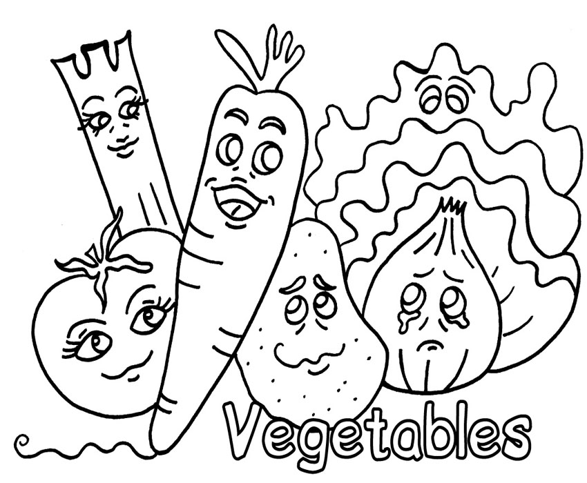 Vegetable coloring #6, Download drawings