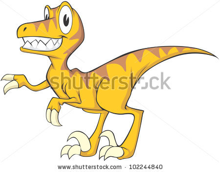 Velociraptor clipart #12, Download drawings
