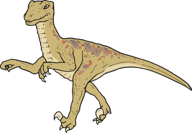 Velociraptor clipart #9, Download drawings