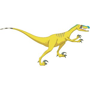 Velociraptor clipart #4, Download drawings