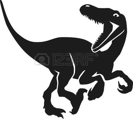 Velociraptor clipart #7, Download drawings