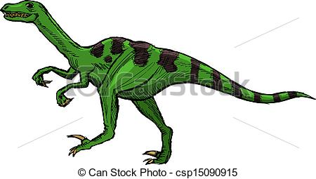 Velociraptor clipart #13, Download drawings