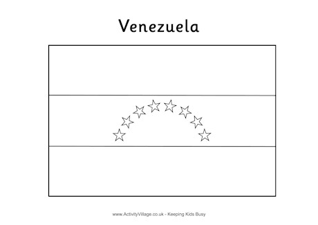 Venezuela coloring #3, Download drawings