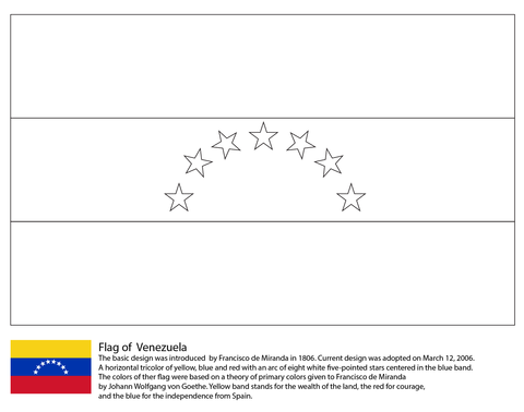 Venezuela coloring #11, Download drawings