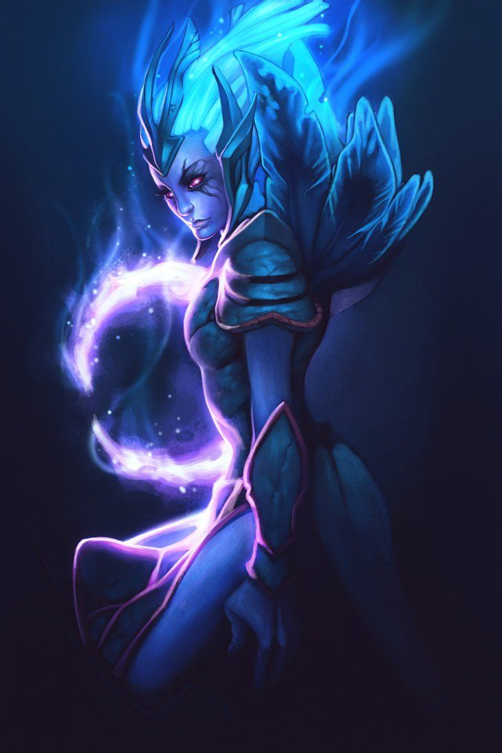 Vengeful Spirit (DotA 2) coloring #19, Download drawings
